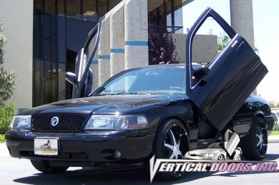 Vertical Door Kits - OEM - Vertical Doors Inc - Mercury Marauder VDI Vertical Lambo Door Hinge Kit - Direct Bolt On - VDCMERMA0304