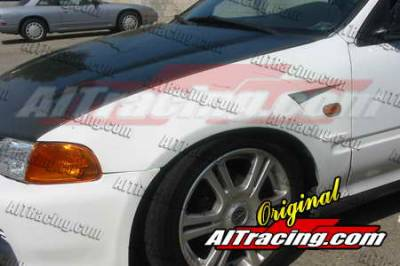 Civic HB - Fenders - AIT Racing - Honda Civic AIT Racing D1 Style Front Fenders - HC92HID1SFF