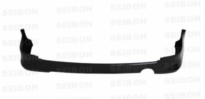 RSX - Rear Bumper - Seibon - Acura RSX Seibon TR Style Carbon Fiber Rear Lip - RL0507ACRSX-TR