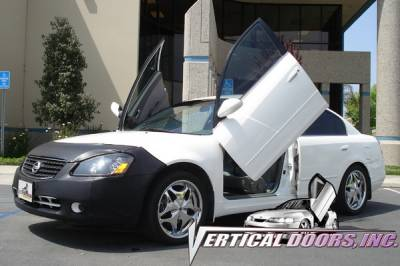 Vertical Door Kits - OEM - Vertical Doors Inc - Nissan Altima VDI Vertical Lambo Door Hinge Kit - Direct Bolt On - VDCNALT0206