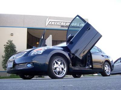 Vertical Door Kits - OEM - Vertical Doors Inc - Nissan Altima VDI Vertical Lambo Door Hinge Kit - Direct Bolt On - VDCNALT07