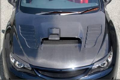Impreza - Hoods - Chargespeed - Subaru Impreza Chargespeed Vented Hood
