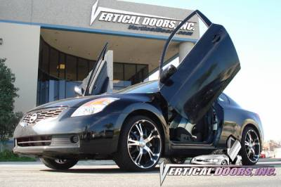 Vertical Door Kits - OEM - Vertical Doors Inc - Nissan Altima VDI Vertical Lambo Door Hinge Kit - Direct Bolt On - VDCNALT08