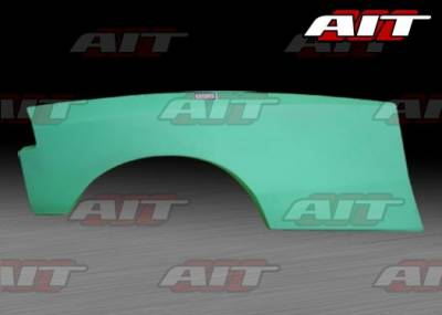Civic HB - Rear Add On - AIT Racing - Honda Civic HB AIT Feels Style Wide Rear Panel - HC92HIFLSRF3