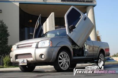 Vertical Door Kits - OEM - Vertical Doors Inc - Nissan Frontier VDI Vertical Lambo Door Hinge Kit - Direct Bolt On - VDCNFRONT9804