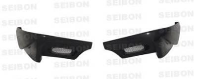 WRX - Rear Bumper - Seibon - Subaru WRX Seibon TS Style Carbon Fiber Rear Lip - RL0607SBIMP-TS
