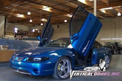 Vertical Door Kits - OEM - Vertical Doors Inc - Pontiac Grand Prix VDI Vertical Lambo Door Hinge Kit - Direct Bolt On - VDCPONGPRIX9703