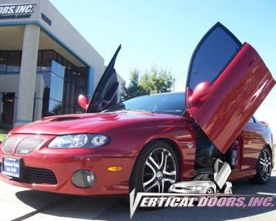 Vertical Door Kits - OEM - Vertical Doors Inc - Pontiac GTO VDI Vertical Lambo Door Hinge Kit - Direct Bolt On - VDCPONGTO0406