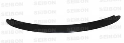 Yaris - Rear Bumper - Seibon - Toyota Yaris Seibon OEM Style Carbon Fiber Rear Lip - RL0708TYYARHB-OE