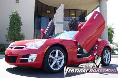 Vertical Door Kits - OEM - Vertical Doors Inc - Saturn Sky VDI Vertical Lambo Door Hinge Kit - Direct Bolt On - VDCSATSKY0708