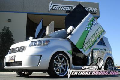Vertical Door Kits - OEM - Vertical Doors Inc - Scion xB VDI Vertical Lambo Door Hinge Kit - Direct Bolt On - VDCSCXB08