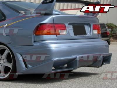 Civic 4Dr - Rear Bumper - AIT Racing - Honda Civic 4DR AIT Vascious Style Rear Bumper - HC92HIVASRB2