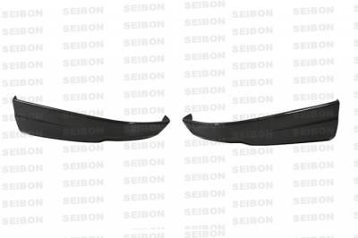 Integra 4Dr - Rear Bumper - Seibon - Acura Integra Seibon TR Style Carbon Fiber Rear Lip - RL9801ACIN-TR