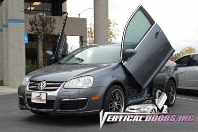 Vertical Door Kits - OEM - Vertical Doors Inc - Volkswagen Jetta VDI Vertical Lambo Door Hinge Kit - Direct Bolt On - VDCVOLKJETTA9905