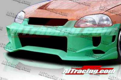 Civic HB - Front Bumper - AIT Racing - Honda Civic AIT Racing ALK-2 Style Front Bumper - HC96HIALK2FB