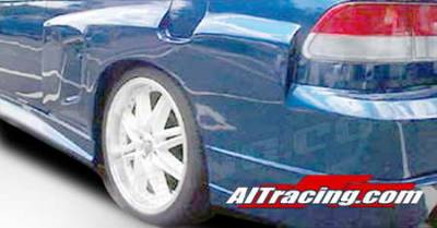 Civic 2Dr - Fender Flares - AIT Racing - Honda Civic AIT Racing Feels Style Fender Flare - Rear - HC96HIFLSRF2