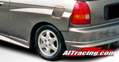 Civic 2Dr - Fender Flares - AIT Racing - Honda Civic AIT Racing Feels Style Fender Flare - Rear - HC96HIFLSRF3
