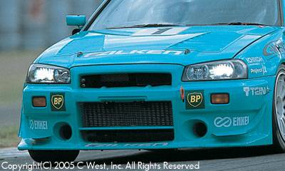 Skyline - Front Bumper - C-West - N1 Front Bumper I