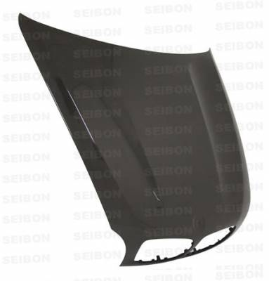 Spoilers - Custom Wing - Seibon - BMW 3 Series 4DR Seibon TH Style Carbon Fiber Rear Roof Spoiler - RRS0507BMWE90-TH