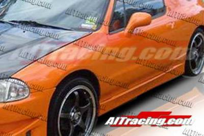 Del Sol - Side Skirts - AIT Racing - Honda Del Sol AIT Racing BC Style Side Skirts - HD93HIBCSSS