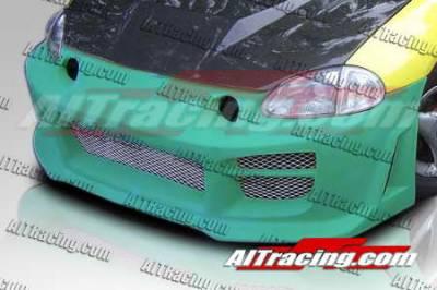Del Sol - Front Bumper - AIT Racing - Honda Del Sol AIT Racing R34 Style Front Bumper - HD93HIR34FB