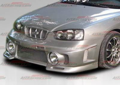 Elantra - Front Bumper - AIT Racing - Hyundai Elantra AIT Racing EVO Style Front Bumper - HE01HIEVOFB