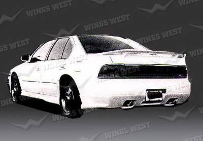 Maxima - Rear Add On - Wings West - Nissan Maxima Wings West Custom Style Rear Lower Skirt - Fiberglass - 49145