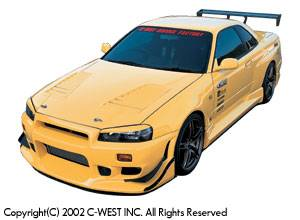 Skyline - Front Bumper - C-West - N1 Front Bumper II