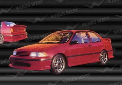 Tercel - Rear Add On - Wings West - Toyota Tercel Wings West Rear Lower Skirt - Fiberglass - 49702