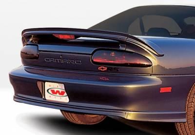 Camaro - Rear Add On - VIS Racing - Chevrolet Camaro VIS Racing F-1 Rear Lip - Polyurethane - 890077