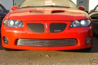 Grilles - Custom Fit Grilles - Custom - GTO Front Bumper Chrome Insert