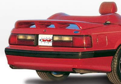 Mustang - Rear Add On - Wings West - Ford Mustang Wings West Cobra Style Rear Lower Skirt - 890104