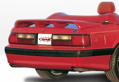 Mustang - Rear Add On - VIS Racing - Ford Mustang VIS Racing Cobra Style Rear Lip - Polyurethane - 890104