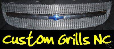 Grilles - Custom Fit Grilles - Custom - Chrome Billet Grille Insert
