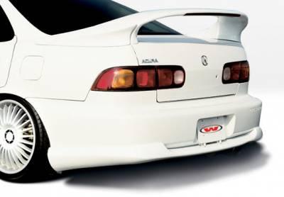 Integra 4Dr - Rear Add On - VIS Racing - Acura Integra 4DR VIS Racing Racing Series Rear Lip - Polyurethane - 890147