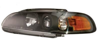 Headlights & Tail Lights - Headlights - ACA Performance - ACA Performance HID Projector XGL Headlight Upgrade Kit - HIDXP3001
