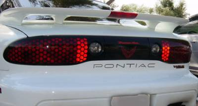 Accessories - Polished Bumper Inserts - Custom - Pontiac Firebird Trans Am Polished Bumper Insert