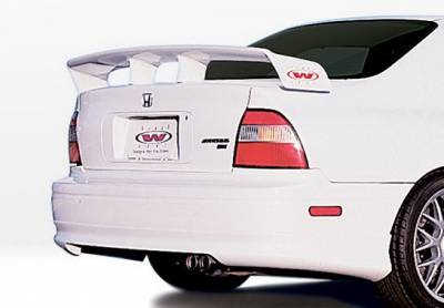 Accord 2Dr - Rear Add On - Wings West - Honda Accord Wings West W-Type Rear Lower Skirt - 890265