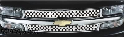 Grilles - Custom Fit Grilles - Custom - BULLY  Stainless Steel Grille Inserts