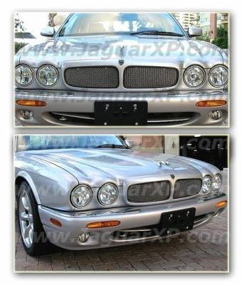 Grilles - Custom Fit Grilles - Custom - XJ8 98-03 Mesh Grille Inserts