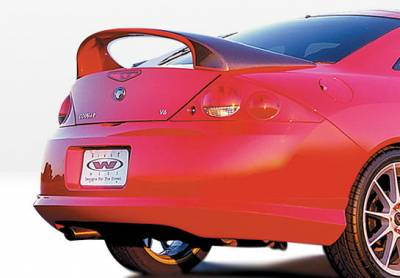 Cougar - Rear Add On - VIS Racing - Mercury Cougar VIS Racing W-Type Rear Lip - Polyurethane - 890298