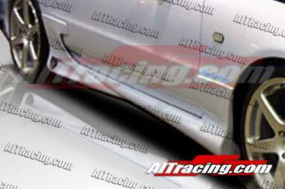 Prelude - Side Skirts - AIT Racing - Honda Prelude AIT Racing Combat Style Side Skirts - HP92HICBSSS