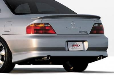 TL - Rear Add On - Wings West - Acura TL Wings West W-Type Rear Lower Skirt - 890342
