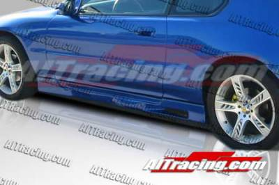 Prelude - Side Skirts - AIT Racing - Honda Prelude AIT Racing Revolution Style Side Skirts - HP92HIREVSS