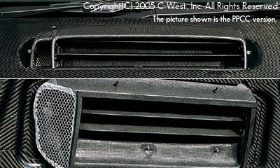 Impreza - Hoods - C-West - Zenki Bonnet Air Intake