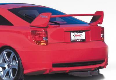 Celica - Rear Add On - Wings West - Toyota Celica Wings West W-Type Rear Lower Skirt - 890469