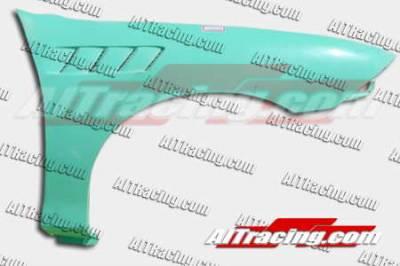 Prelude - Fenders - AIT Racing - Honda Prelude AIT Racing Z3 Style Front Fenders - HP92HIZ3SF