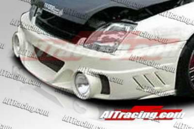 Prelude - Front Bumper - AIT Racing - Honda Prelude AIT Racing EVO2-L Style Front Bumper - HP97HIEVO2FBL