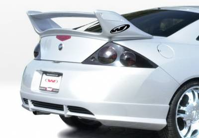 Cougar - Rear Add On - Wings West - Mercury Cougar Wings West W-Type Rear Lower Skirt - 890522