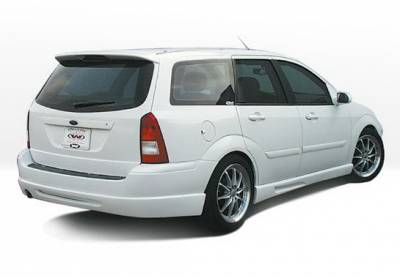 Focus Wagon - Rear Add On - Wings West - Ford Focus Wagon Wings West W-Type Rear Lower Skirt - 890534